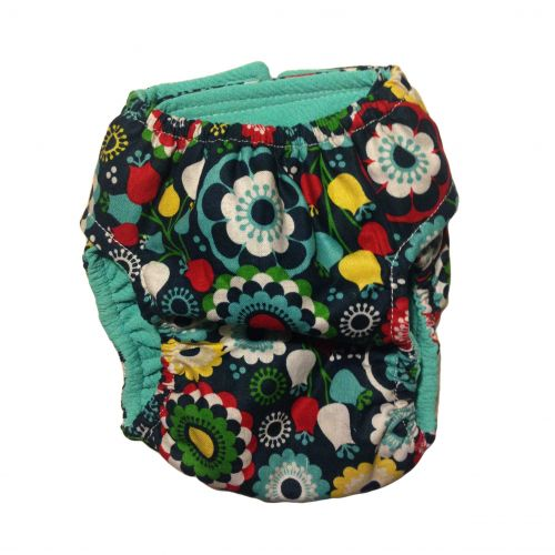 flower diaper 5 - back