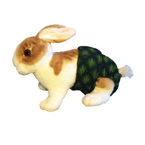 green-double-dots-diaper-bunny