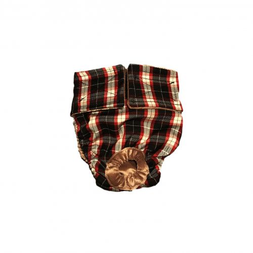 american plaid diaper