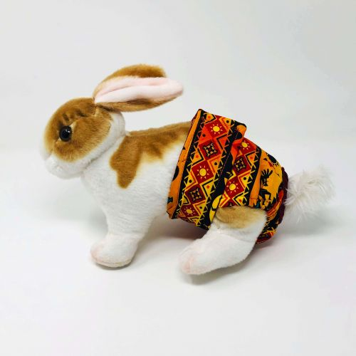 american southwest on yellow diaper - bunny