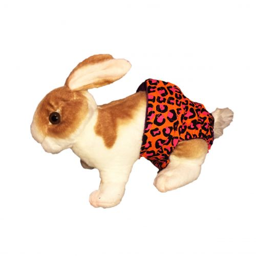 orange-hot-pink-leopard-diaper-bunny