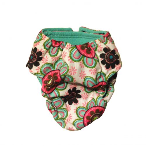 passion flower diaper - back