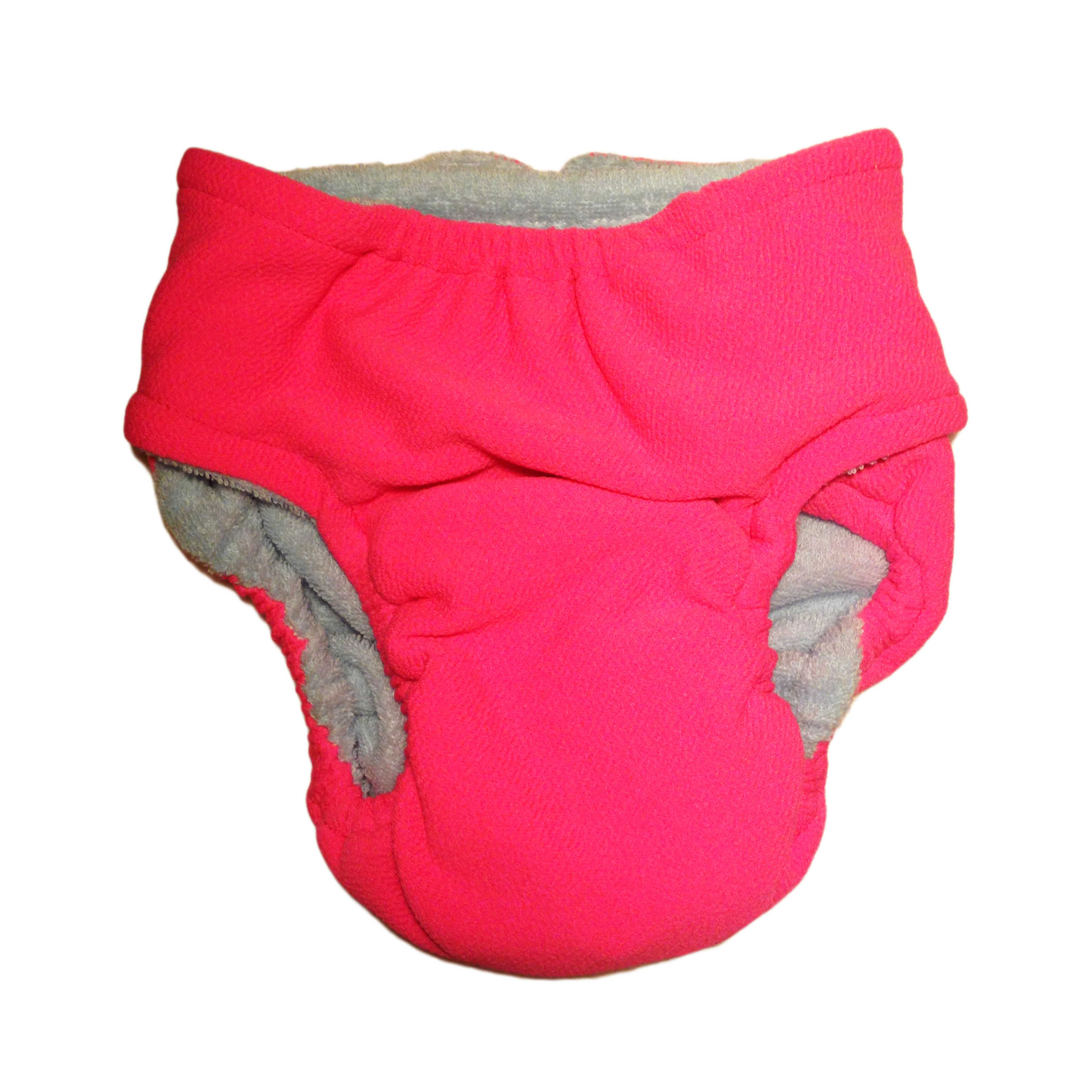 Pink Washable Bunny Diaper