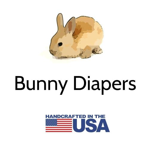 bunny diapers stamp