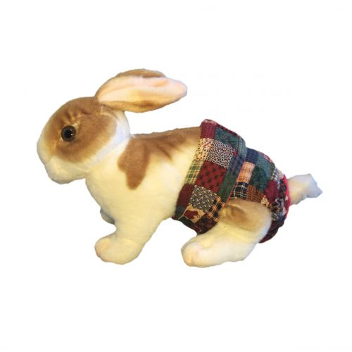 plaid-heart-patch-diaper-bunny