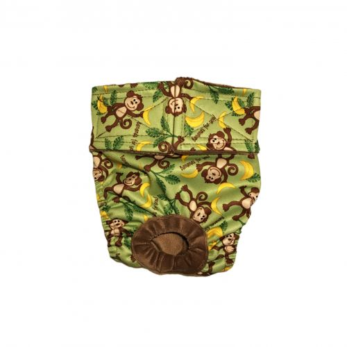 monkey and bananas pul diaper