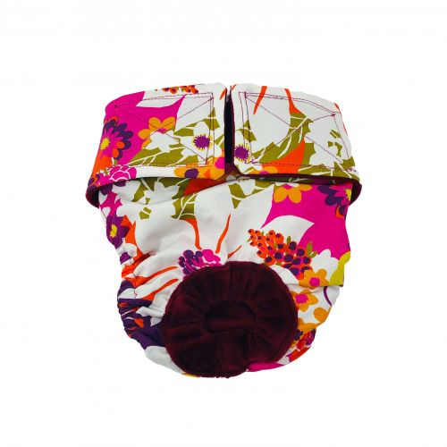 beautiful spring flower diaper 2
